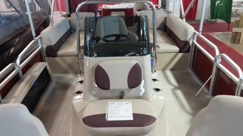 New Tahoe Pontoon Boats